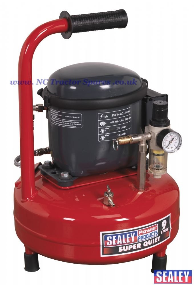 Compressor 9ltr Super Quiet 0.3hp